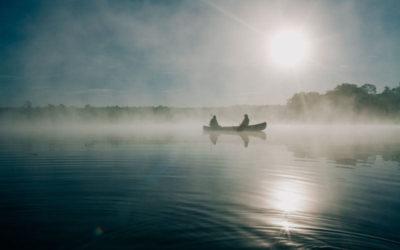 Angeln Mecklenburgische Seenplatte auf See mit Boot bei Fiskado