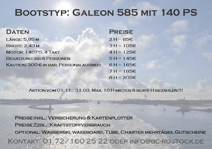Fiskado - bootscharter rostock preise galeon 140 2018 - Bootscharter Rostock: Bootsverleih - geführte Bootstouren - Bootsservice - bootsverleih, bootstouren, bootsservice, angelausflug