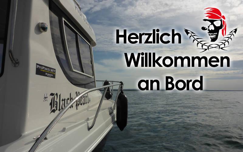 Angelguiding und Bootstouren mit ProFisch-MV und der Black Pearl