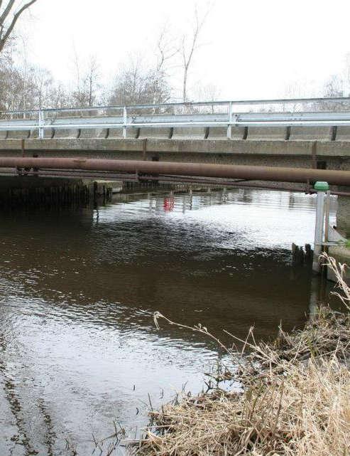 Brücke über die Recknitz in M-V